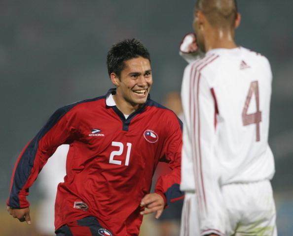 Chile y Venezuela en Clasificatorias a Alemania 2006, 8 de junio de 2005