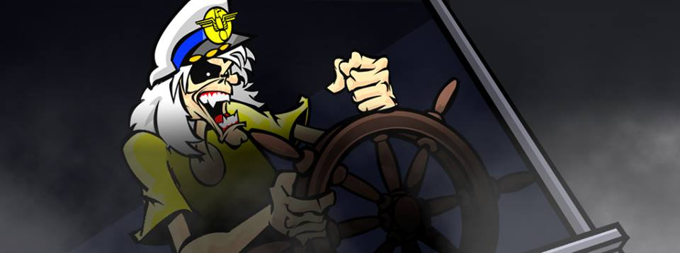 "Maiden Cartoons: assista vídeo para ""Ghost Of The Navigator"""