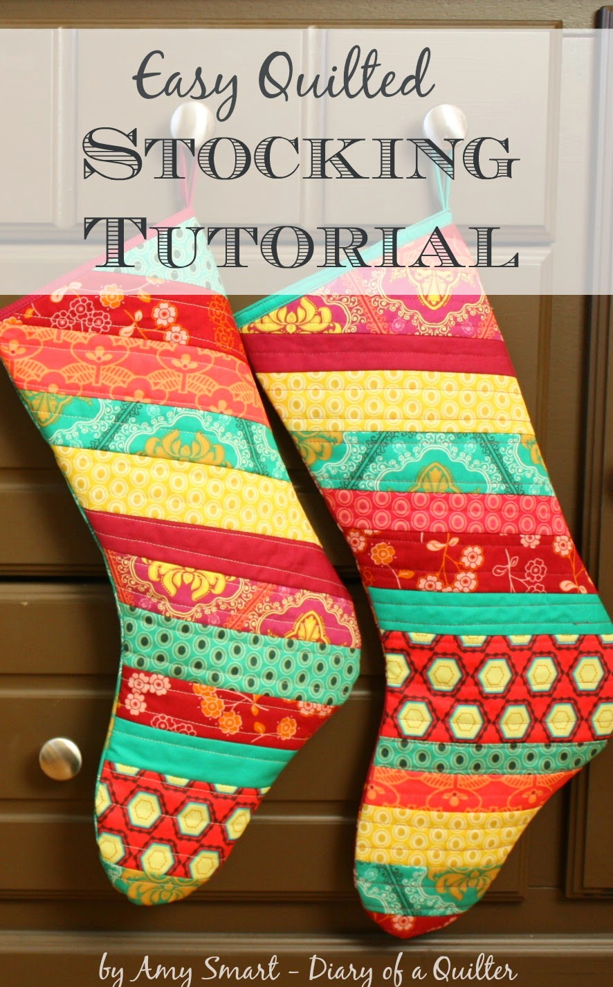 Christmas stocking tutorial diary of a quilter a quilt blog today im going to show you a simple method for making scrappy christmas stockings theyre quick and super easy i promise and a great way to use up your jeuxipadfo Gallery