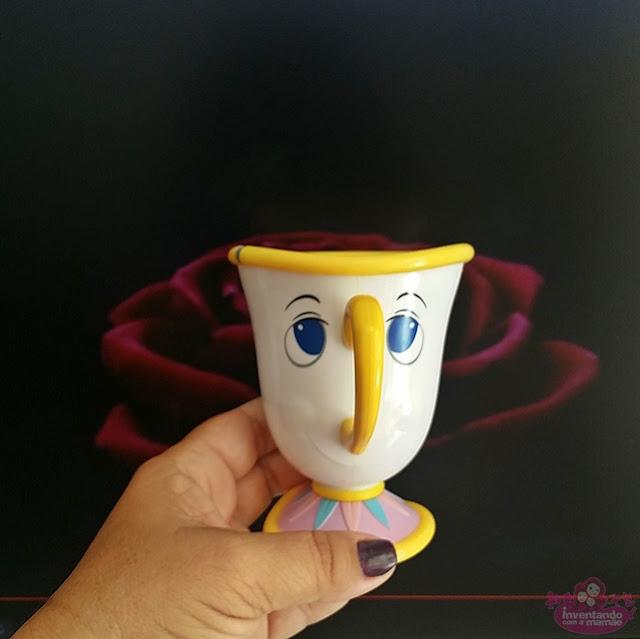 Xícara da Bela e a Fera