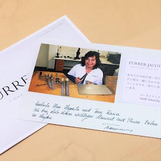 FURRER JACOT 名古屋 メモワール メッセージカード エタニティ フェア プラチナ ゴールド キラキラ ハーフエタニティ 鍛造 ダイヤモンド 人気指輪 結婚指輪 記念リング ゴールドスミス