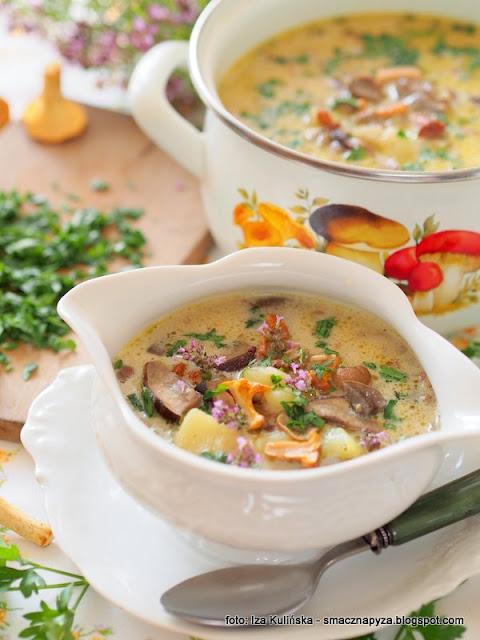 zupa dnia, najsmaczniejsza grzybowa, kartoflanka z grzybami, obiad, zupa sezonowa, grzybki, najlepsza grzybowa, domowe zupy