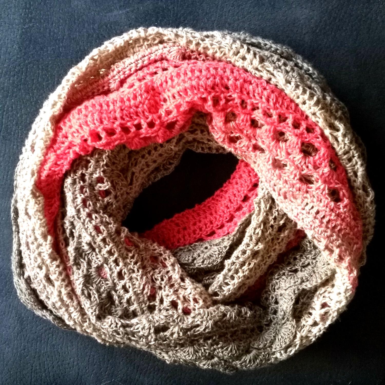 Tante Joyas Zeugblog: Gehäkelt: Möbius-Schal \