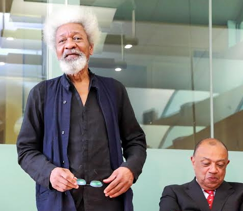 wole soyinka westminster london