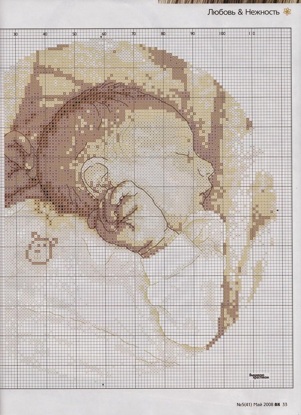 Hobby lavori femminili  ricamo  uncinetto  maglia schema punto croce neonato