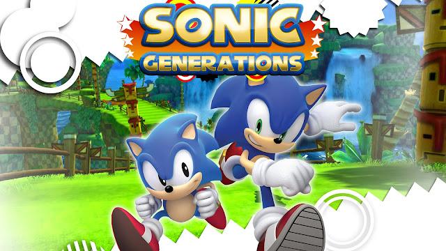 تحميل لعبة مغامرات سونيك جينيريشن sonic generations برابط مباشر ميديا فاير مضغوطة مجانا