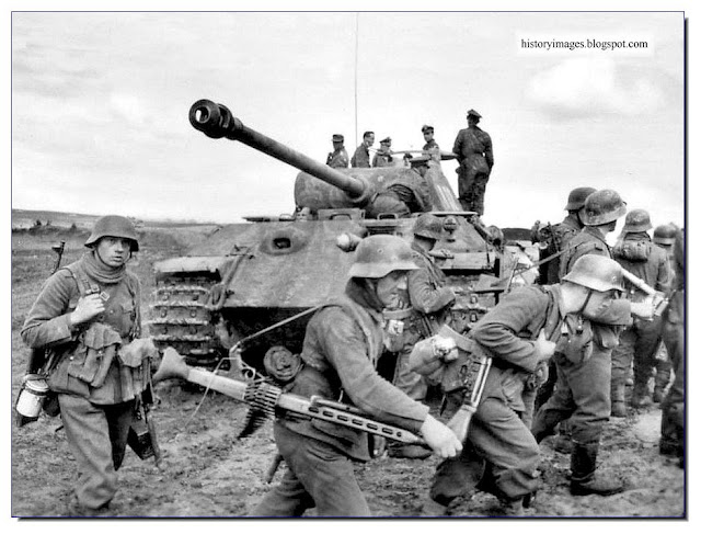 "SS Division ""Viking"". The battle for Kovel (Volyn region, Ukraine), March-April 1944."