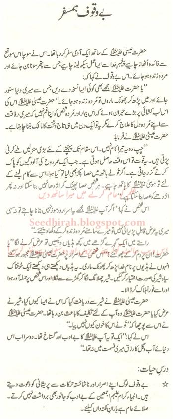 Be-Waqoof Hamsafar