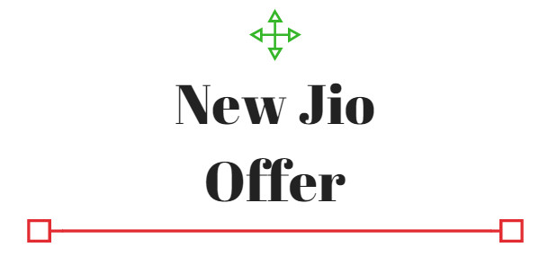 new jio offer