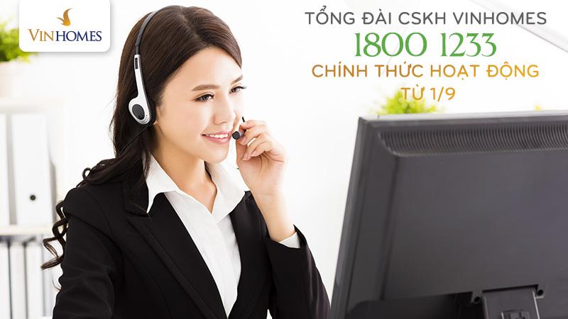hotline cham soc khach hang vinhomes