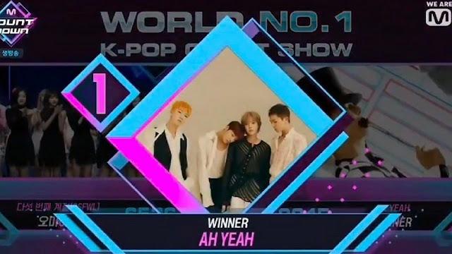 Pertunjukkan Oleh GOT7, EXID, Trainee Produce X 101, Dll M Countdown Ep. 620, 'Ah Yeah' WINNER Angkat Piala Pertama