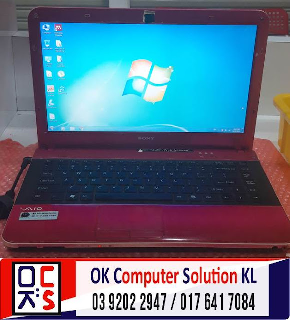 [SOLVED] PROBLEM SCREEN SONY VAIO VPCEA16FG | REPAIR LAPTOP CHERAS 4