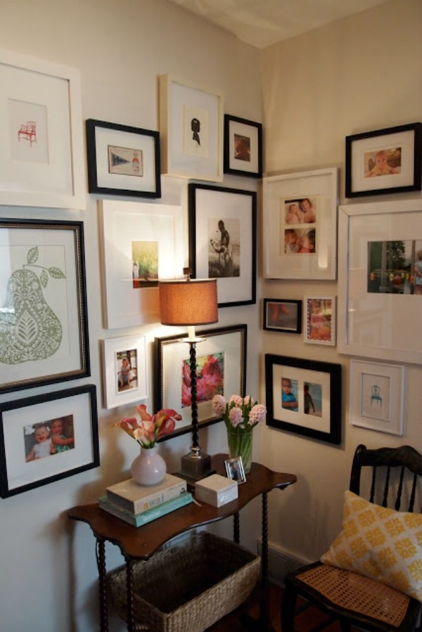 Hanging Picture Frames On The Wall Layout