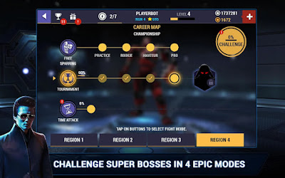 Real Steel Boxing Champions  Mod Apk Unlimited Money HD Terbaru
