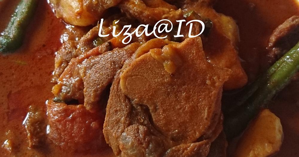 resepi kari daging kambing yg sedap zermine krisgage Resepi Gulai Ayam Utara Enak dan Mudah