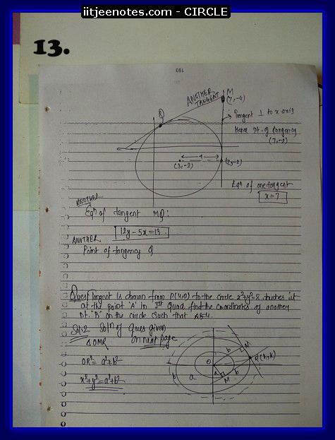 circle notes cbse3