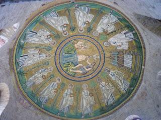 Cúpula del Baptisterio de los Arianos.