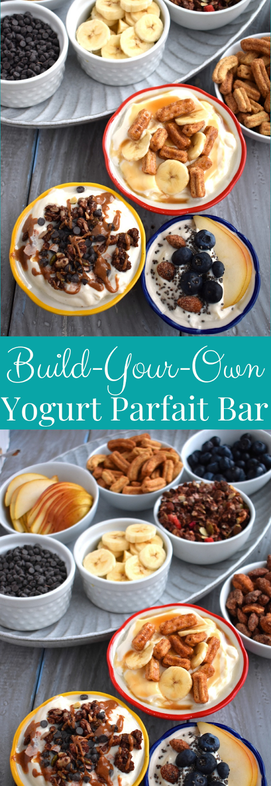 Build-Your-Own Yogurt Parfait Bar Toppings