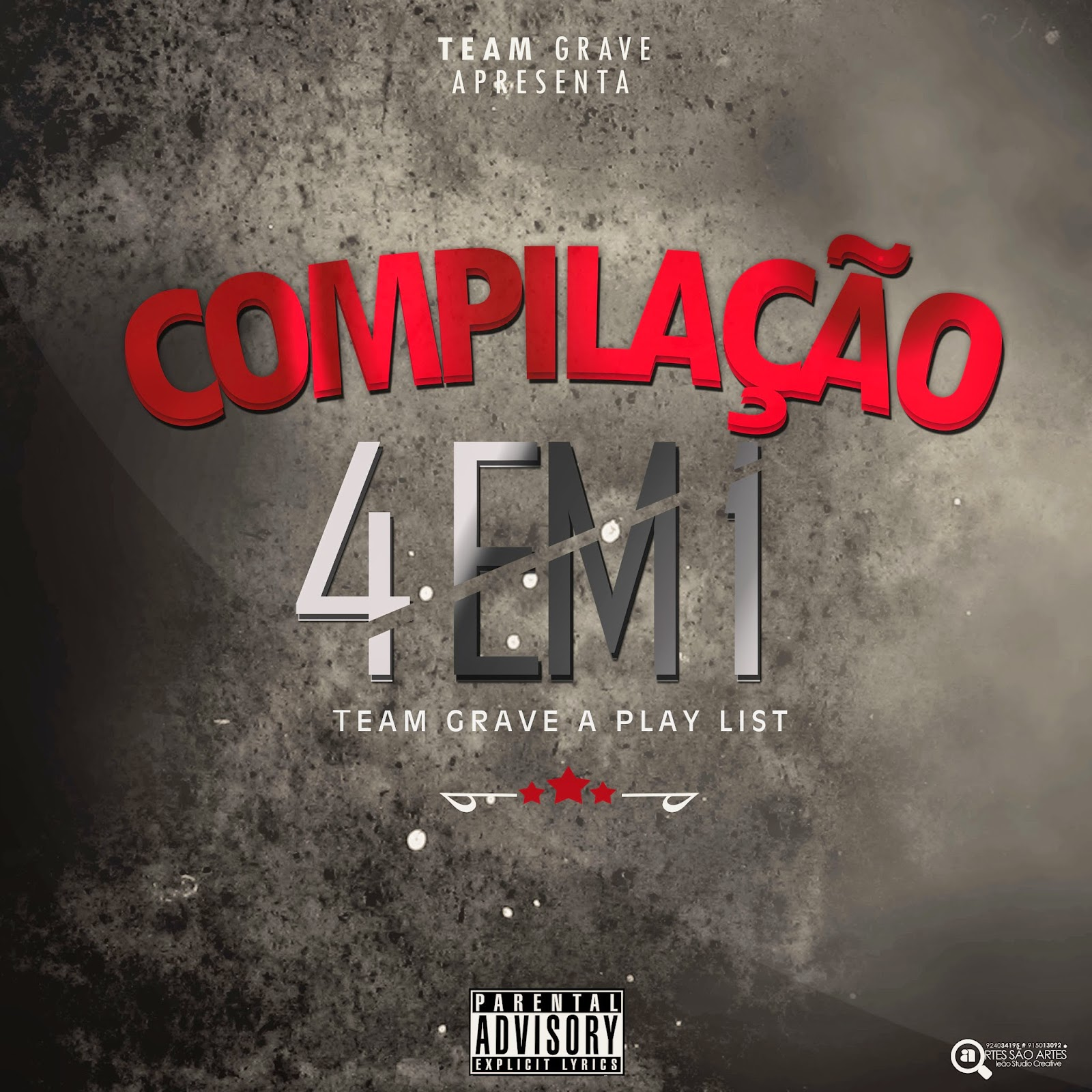 Team Grave - Compilação (4 em 1 Team Grave A Play-List)[2015] // DOWNLOAD