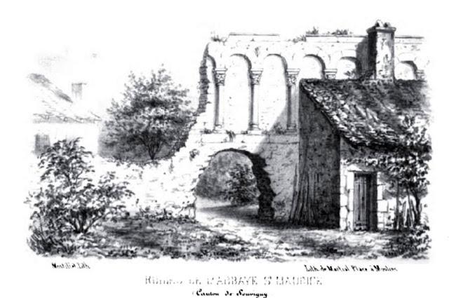 Patrimoine de l'Allier: Abbaye de st Maurice