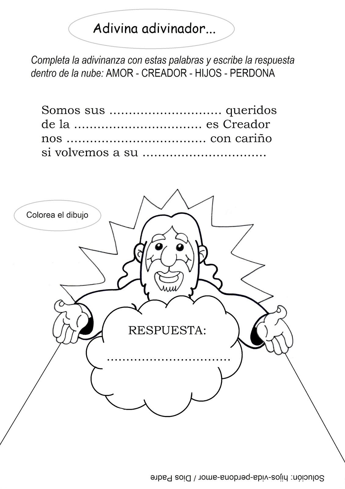 La Catequesis El Blog De Sandra Recursos Catequesis Dios