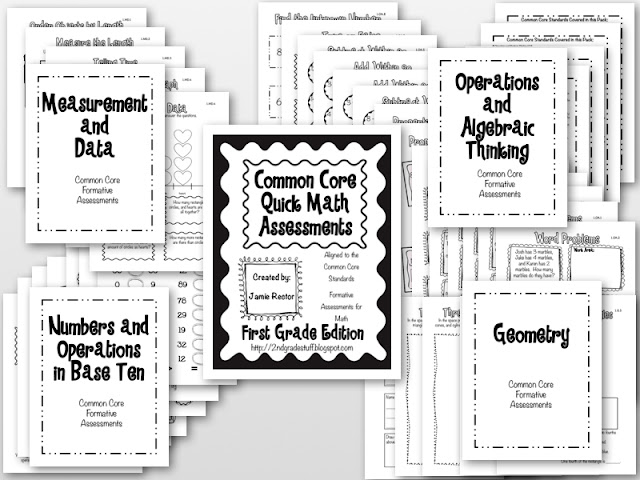 2nd Grade Stuff: Common Core Math Quick Assessments: 1st