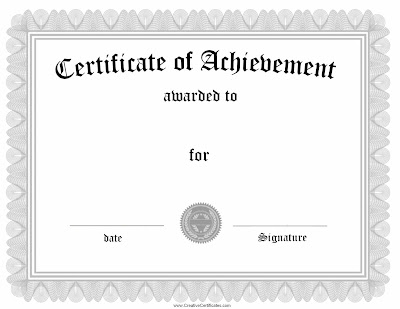 Certificate Completion Template Word Bhast