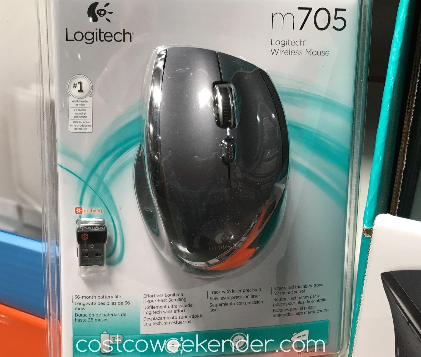 2161193cc06 Logitech m705 Marathon Wireless Mouse | Costco Weekender