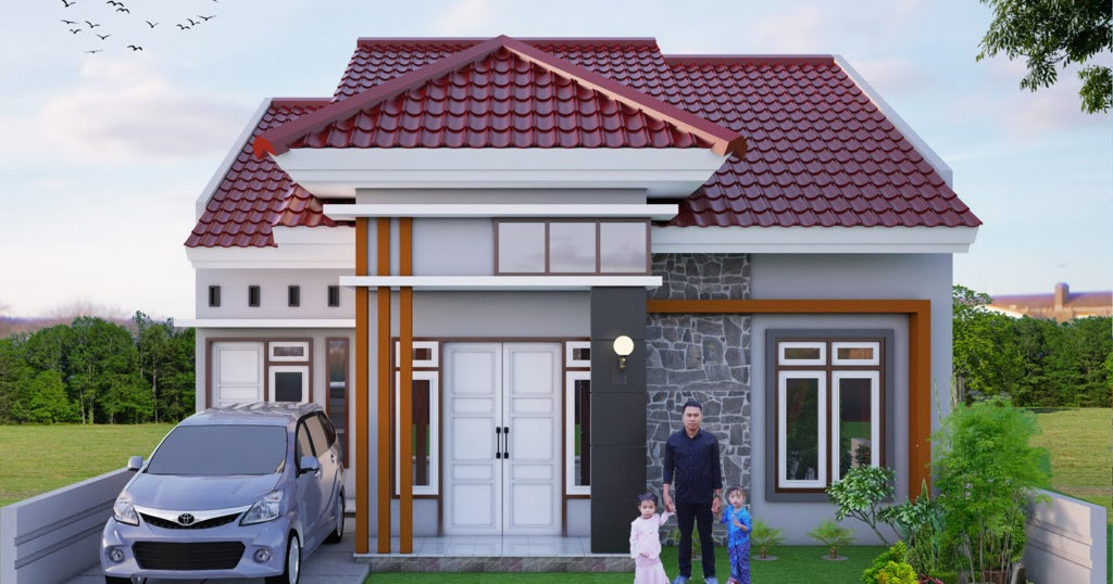 32 Rumah Minimalis 1 Lantai 2020
