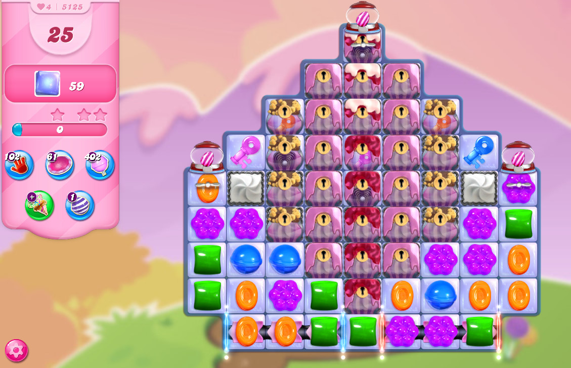Candy Crush Saga level 5125