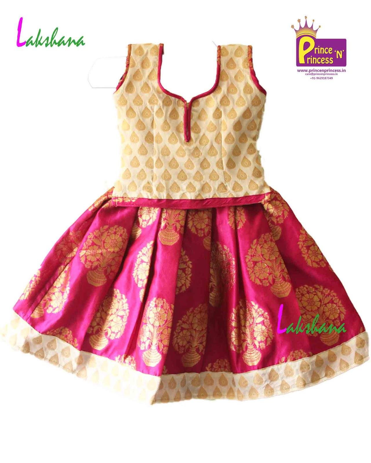 822d2e6338bb6 Prince N Princess  Grand Designer Pattu Pavdai Langa