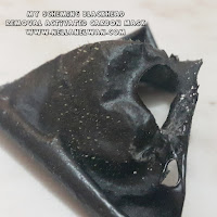 hasil penggunaan My Scheming Blackhead Removal Activated Carbon Mask nellanelwan