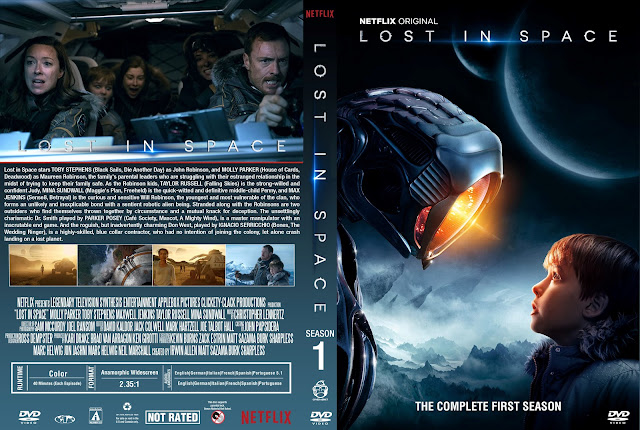 Lost In Space Season 1 DVD Cover