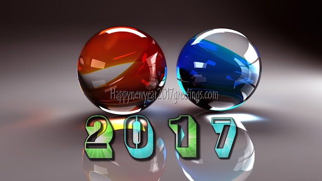 New Year 2017 Full HD 3D Photos Download Free