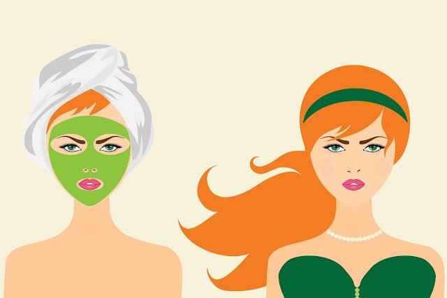 Masker Sayuran untuk Wajah