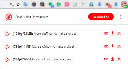 Berikut yaitu daftar software untuk download video HTML Software untuk download video html5