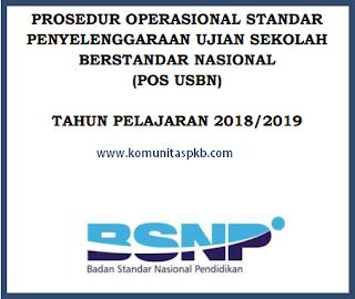 POS Ujian Sekolah Berstandar Nasional (USBN) Tahun 2019