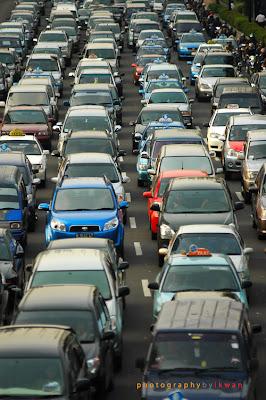 Kemacetan di Kota Denpasar Bali