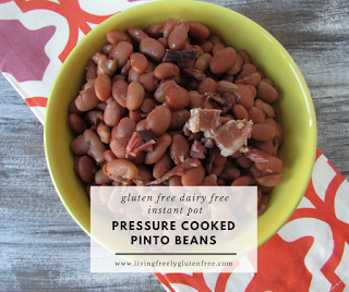 Pressure Cooked Pinto Beans