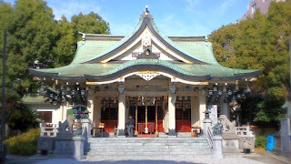 人文研究見聞録:難波八阪神社 [大阪府]