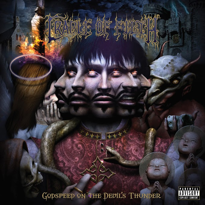 CRADLE OF FILTH - GODSPEED ON THE DEVIL'S THUNDER (2008)