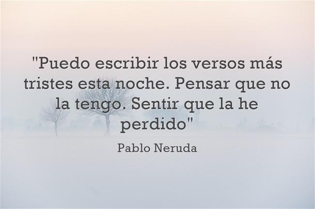 Pablo Neruda Poema Xix