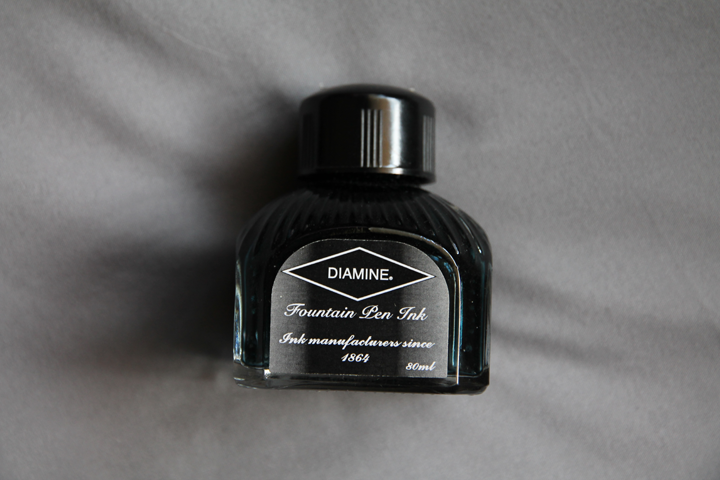 review: diamine teal