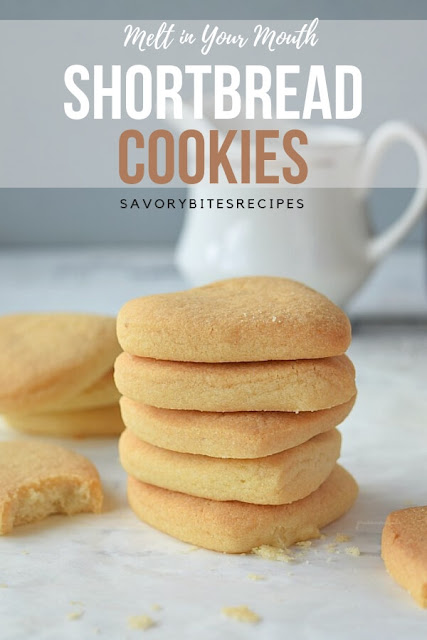 Shortbread Cookies (Melt in Your Mouth)