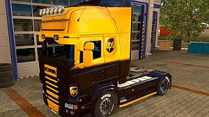 UPS skin for Scania RJL (EviL)