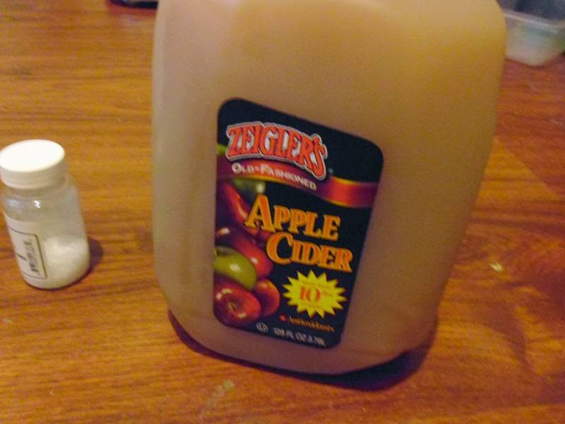 Jug of cider