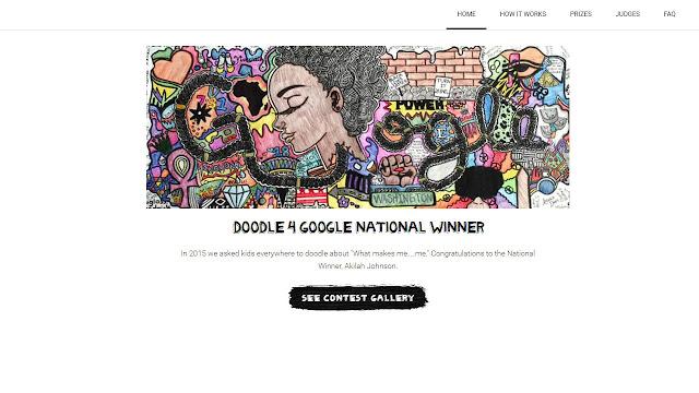 Akilah Johnson Memenangkan Kontes Doodle 4 Google