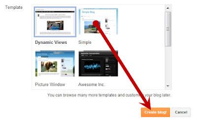 Start or Create a Blog On Blogger Platform