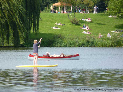 Stadtpark Hamburg Wassersport