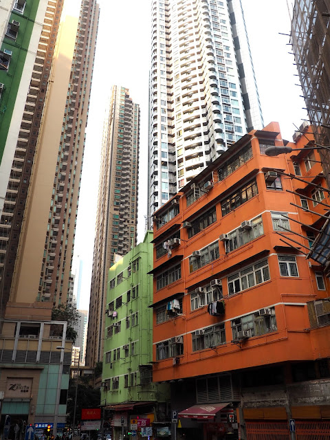 Buildings in Wan Chai, Hong Kong